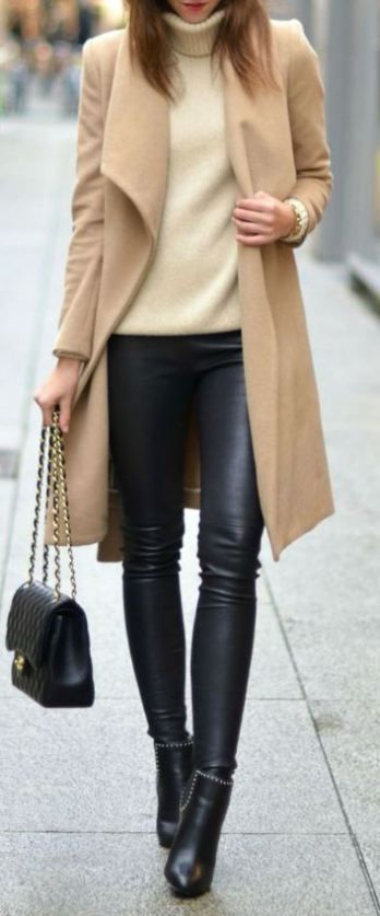 How to pull of wearing leather pants