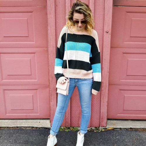 Striped Sweater to Live in All Winter Long