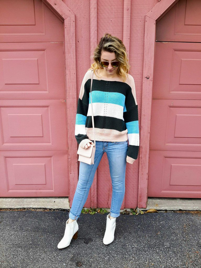 MUST WEAR WEDNESDAY– STRIPED SWEATERS TO LIVE IN