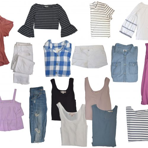 My Summer Capsule Wardrobe