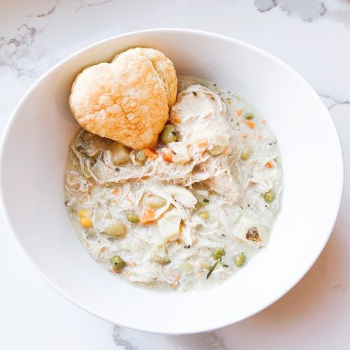 My Favorite Quick & Easy Chicken Pot Pie Soup Recipe