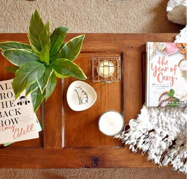 cozy home coffee table
