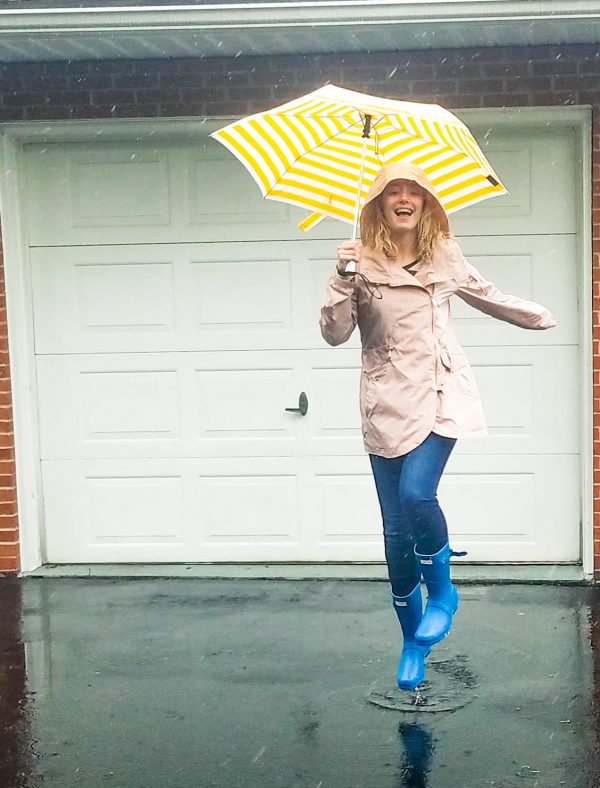Stay Fashionable in the Rain