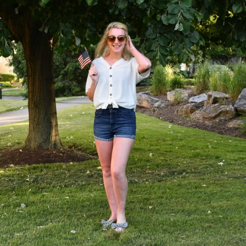 Patriotic Memorial Day Outfit Ideas