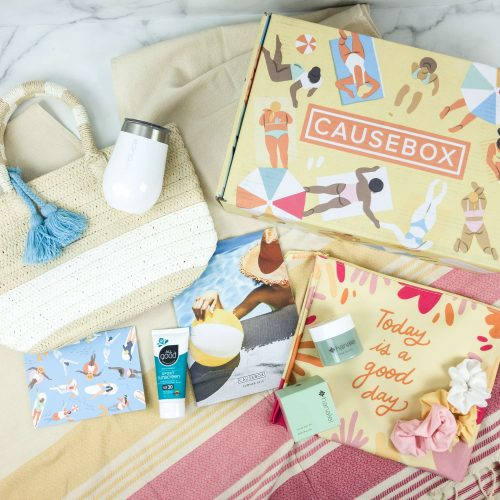 My Spring and Summer Causebox Subscription Boxes