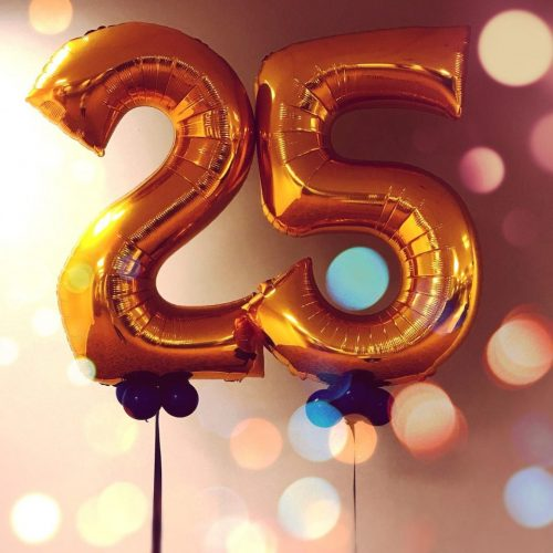 25 Things I've Learned in My 25 Years