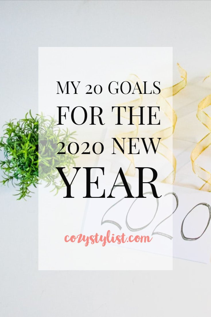 20 Goals For The 2020 New Year