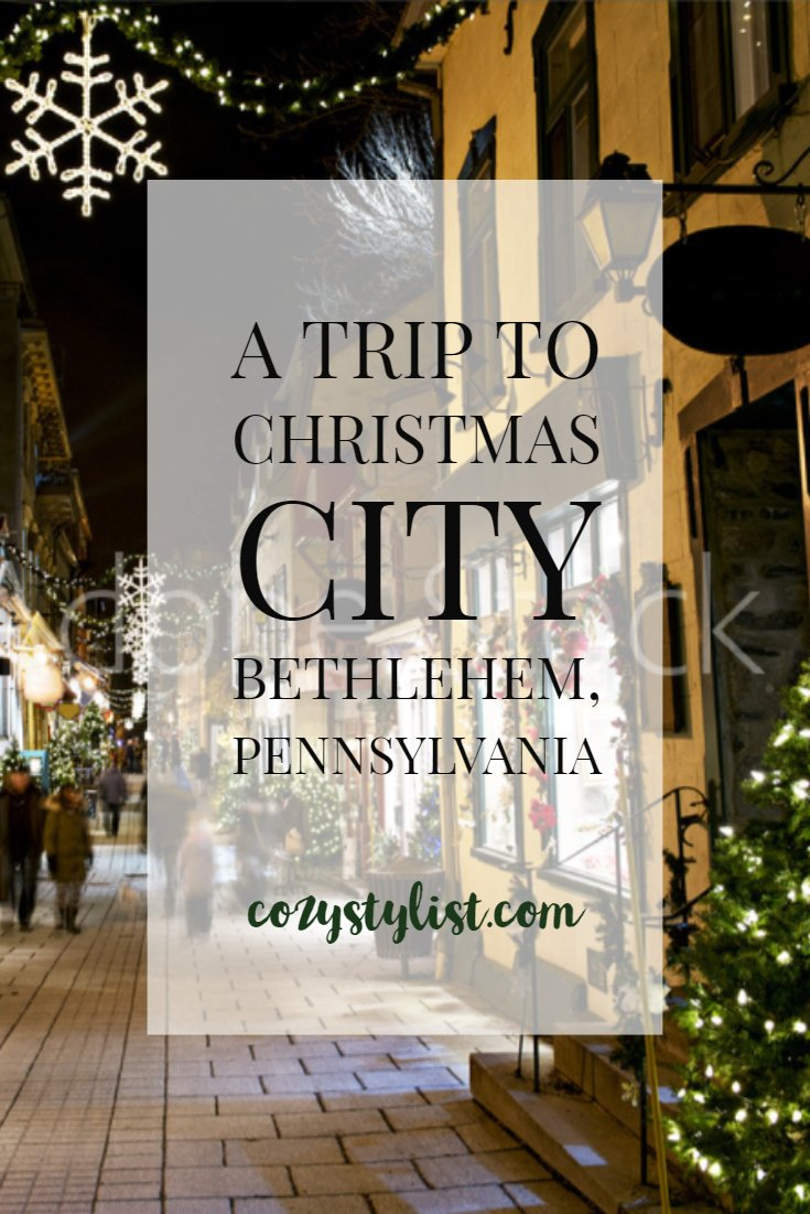 Christmas City Bethlehem Pa