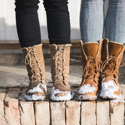 Cute and Causal Winter Boots For Women