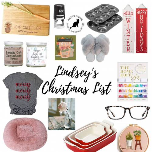 15 Gift Items on My Christmas List This Holiday Season