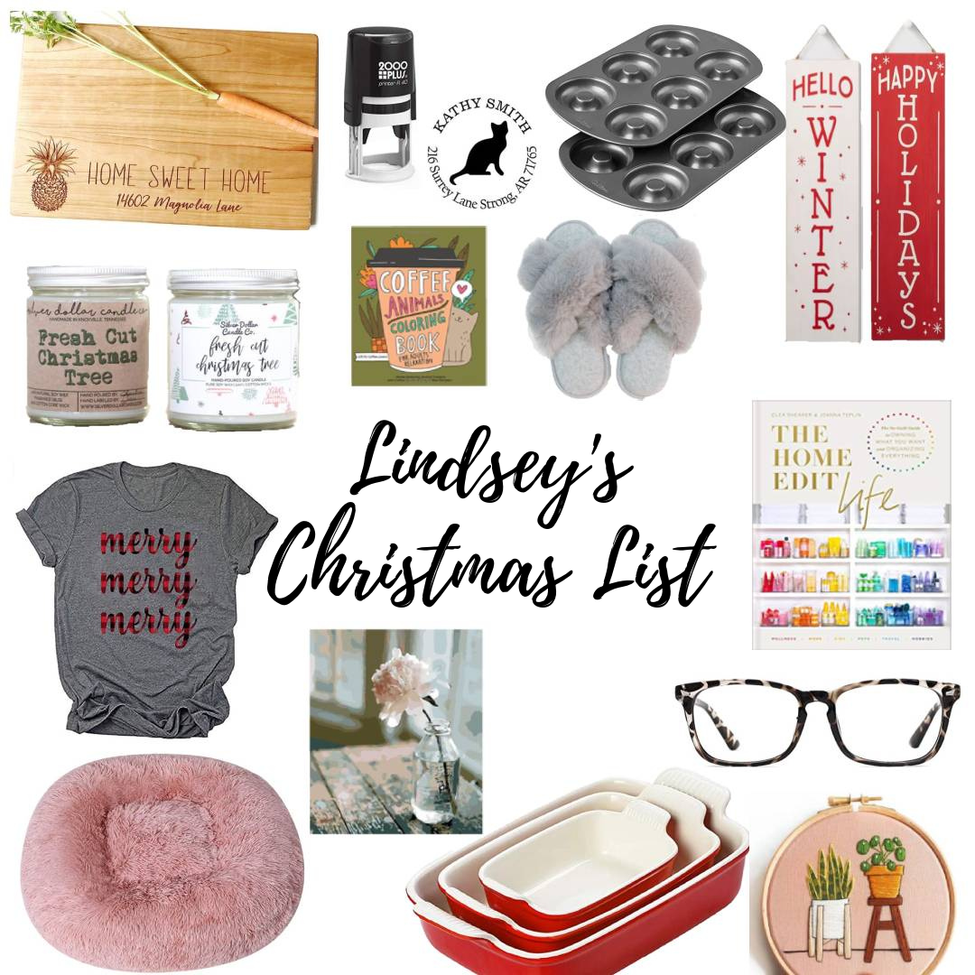 Lindsey's Christmas wishlist